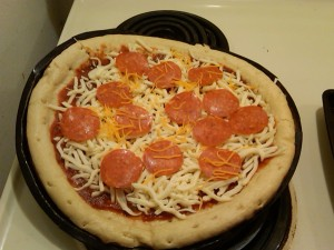 7 Year Old's Pizza Creation