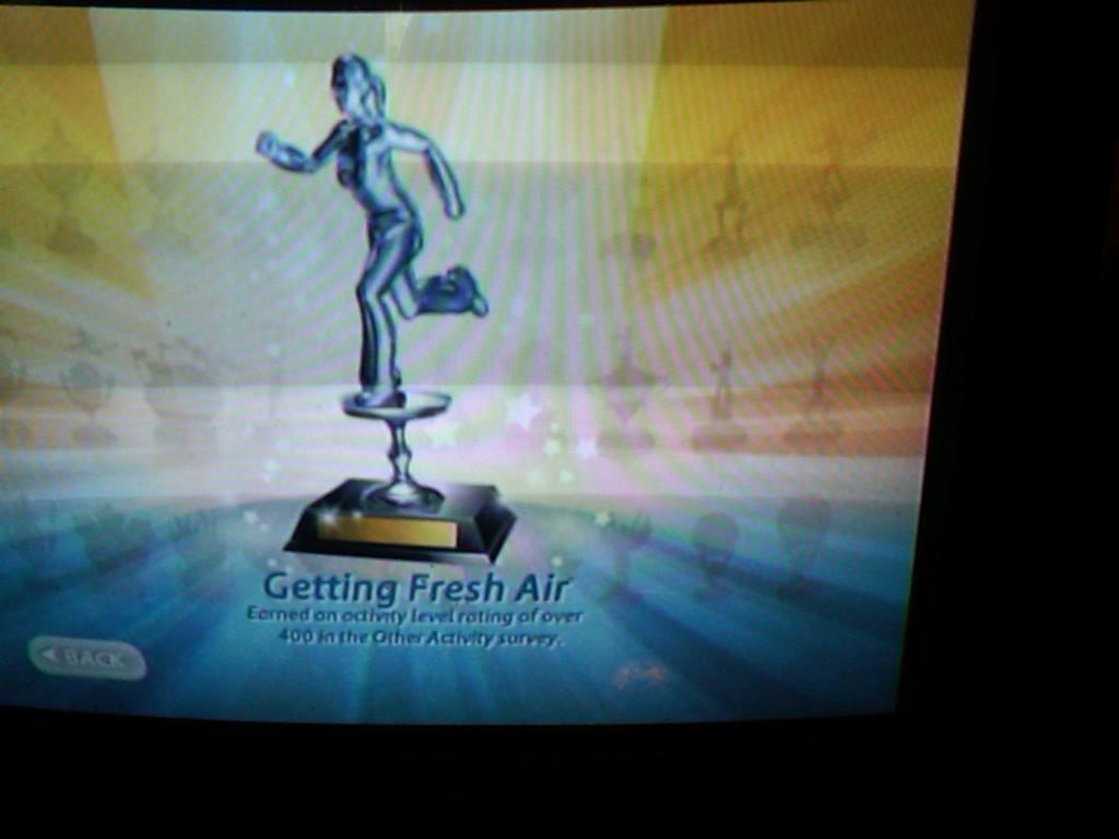 Fresh Air Trophy EA Sports Active