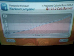 Day 8: Calories Burned