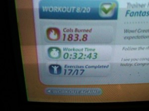 Day 12 Workout