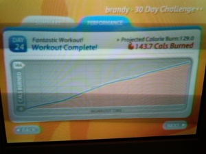 Day 24 Workout Day 13 EA Sports Active
