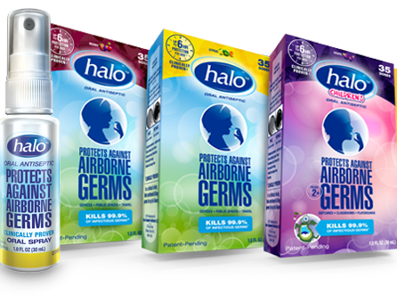 Halo Oral Antiseptic Sprays