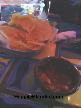 Appetizers at Margaritas in Lebanon NH