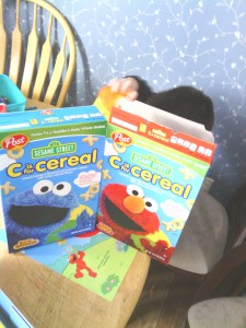 Post Sesame Street Cereal