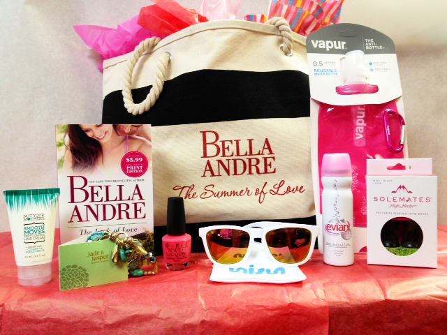 Bella Andre Beach Bag Goodies
