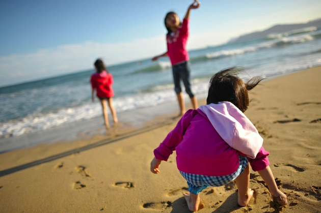 Getting Kids Active During Family Vacation