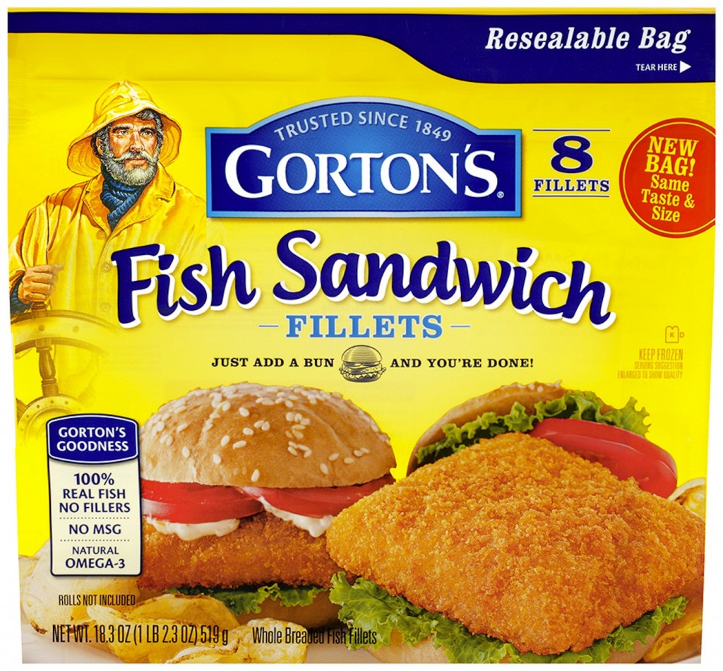 How do you eat your gorton 39 s seafood review giveaway for Good fish sandwich near me