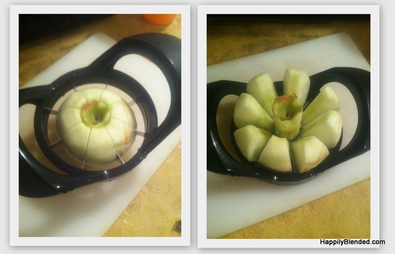 Apple and Peanut Butter Snack Idea (2)