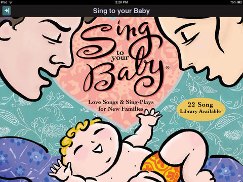 Sing to your Baby iPad app