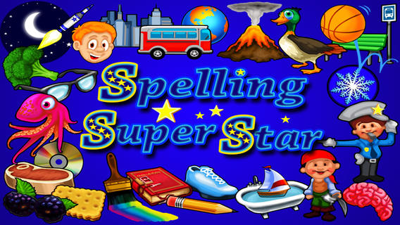 Spelling Super Star App