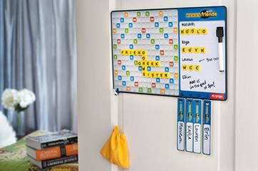 Words with Friends Magnetic Board