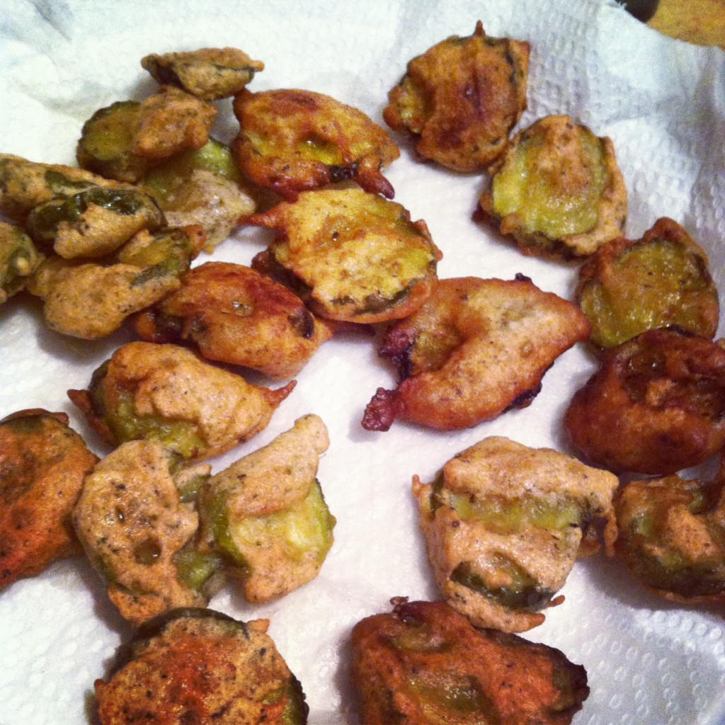 Wordless Wednedsay Fried Pickles