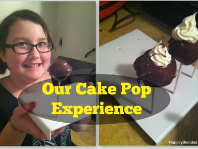Cake Pop Creations with Tween Daughter Take 1 and Take 2