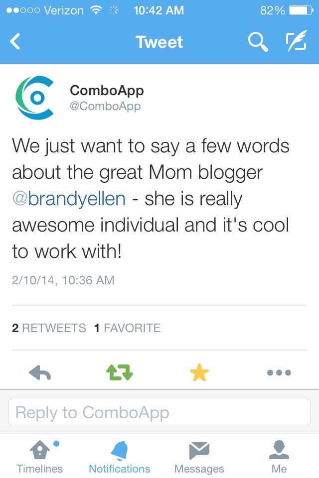 ComboApp Praises BrandyEllen