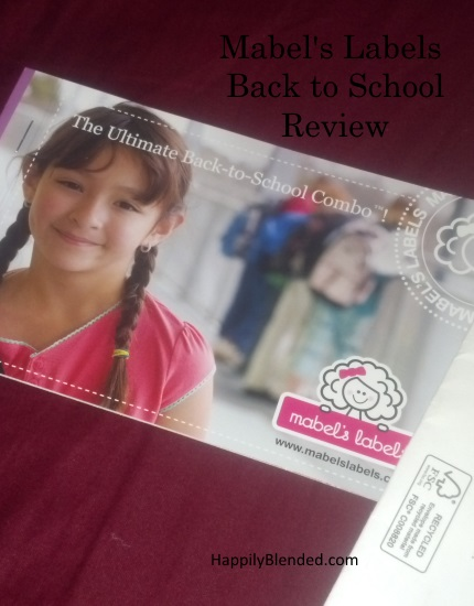 Mabels Labels Back to School Review