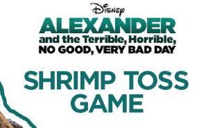 Shrimp Toss Game