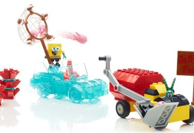 Mega Bloks SpongeBob Squarepants™ Invisible Boatmobile Rescue Giveaway #InvisibleBoat @MegaBloks @SpongeBob