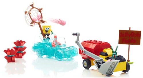 One winner receives the Mega Bloks SpongeBob Squarepants™ Invisible Boatmobile     Prizing & samples courtesy of Mega Bloks  Giveaway open to US addresses only HappilyBlended.com Ends 10/29/2014