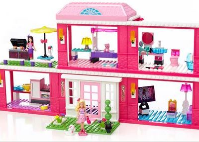 Mega Bloks Barbie™ Build 'n Play Fab Mansion Giveaway #FabMansion @MegaBloks @Barbie