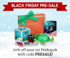 Give the Gift of Peekapak – Subscription Box of Learning Adventures @peekapak #blackfriday
