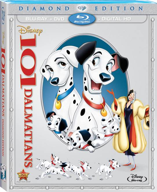 Disney's 101 Dalmatians on Blu-ray 02/10