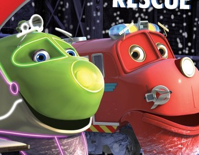 Chuggington: Snow Rescue DVD Train Activity Craft