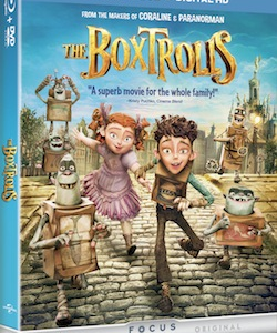 Holiday Activity Sheets and Recipes Inspired by The Boxtrolls