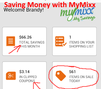 Saved over $60 Using #MyMixx with @shaws