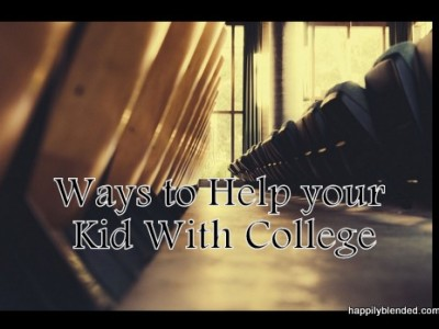 Ways to Help Your Kids with College