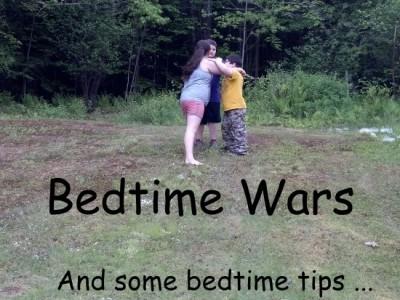 1,2,3,4 I Declare a Bedtime War