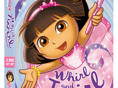 Dora the Explorer: Whirl & Twirl Collection DVD Giveaway