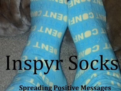 Inspry Socks – Spread Positive Messages With your Socks