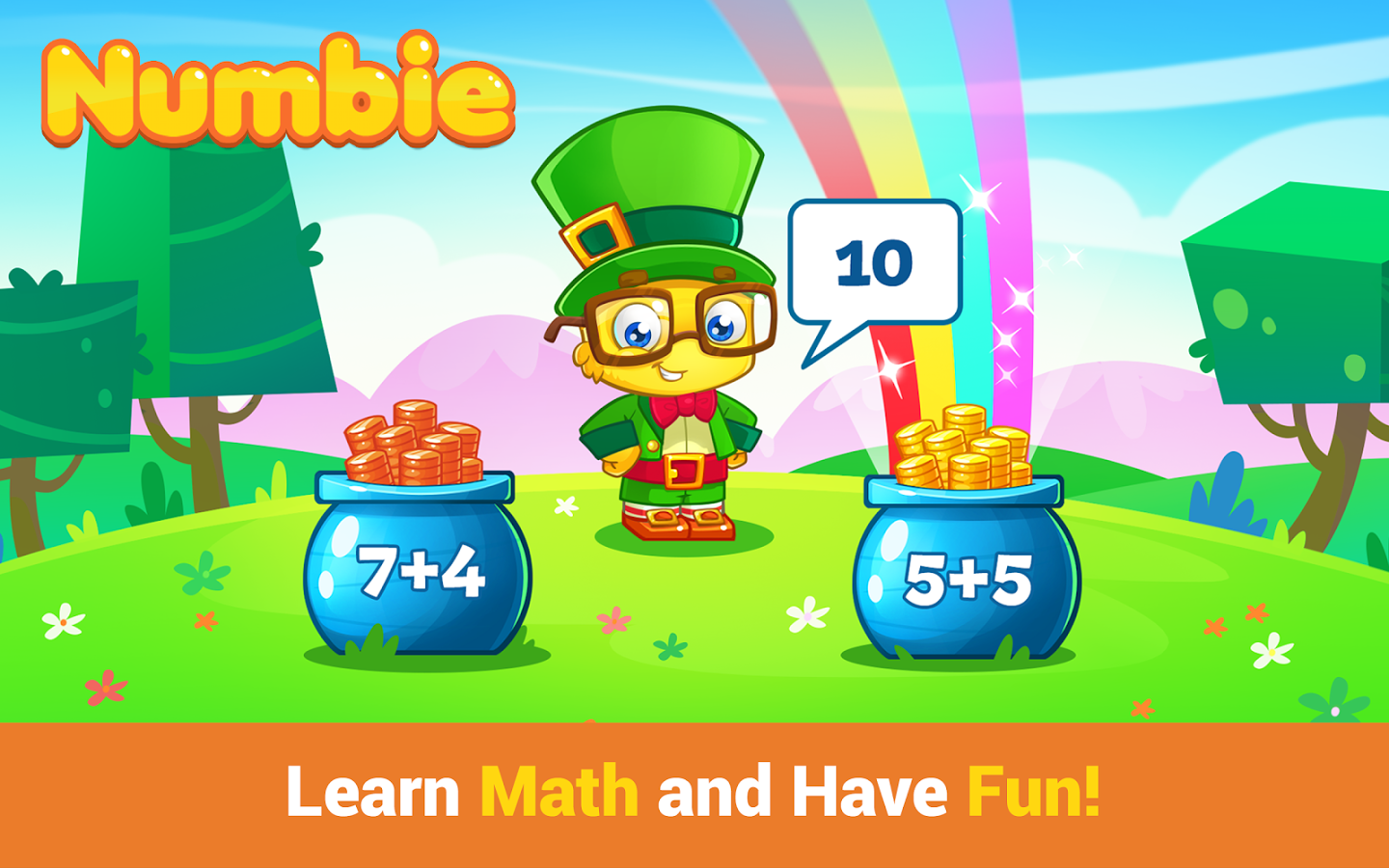 {Fun App} Basic Math Skills for School with Numbie on iTunes & Google Play
