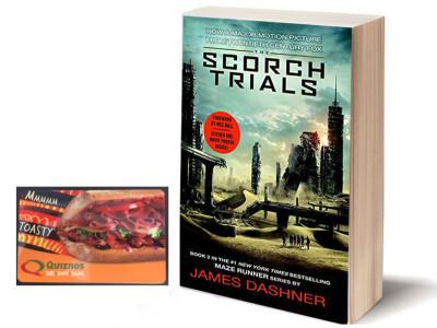 Maze Runner: The Scorch Trials Film – Quiznos $30 GC Giveaway  #spon