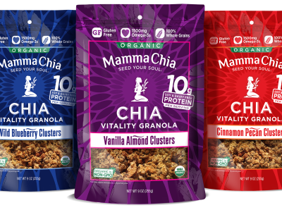 Mamma Chia Vitality Granola For Breakfast
