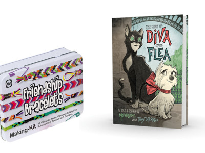 The Story of Diva and Flea Giveaway #DivaandFlea #ad