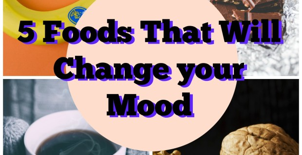 {Positive Lifestyle} 5 Foods that will Change your Mood