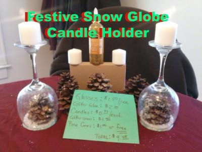 How to Make Festive Snow Globe Craft