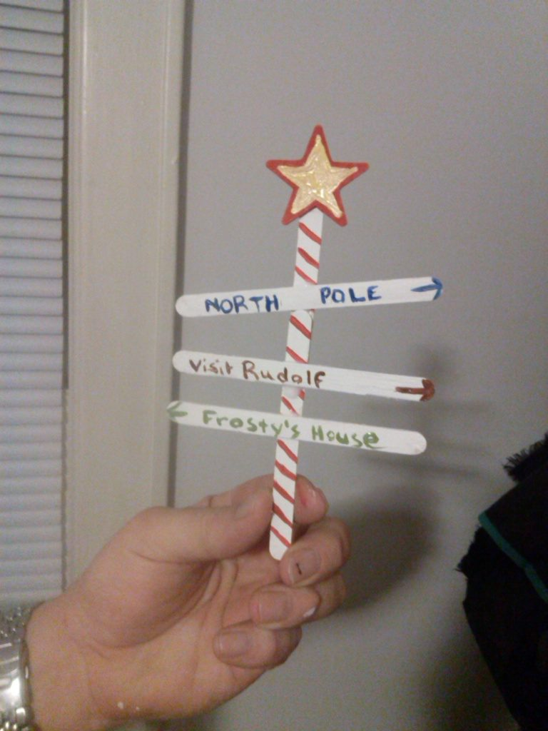 Which way to the North Pole?