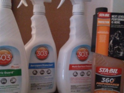 303 Products to Keep your Vehicle Clean & Running Smooth
