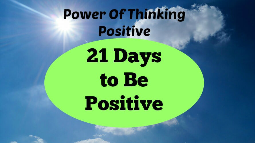 Power Of Thinking Positive