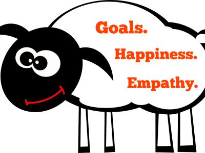 Goals. Happiness. Empathy.