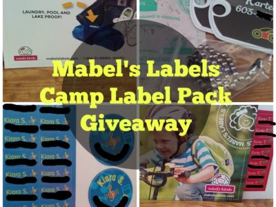 Get Your Labels for Summer Camp from Mabel's Labels With this Giveaway