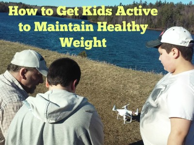 How to Get Kids Active to Maintain Healthy Weight