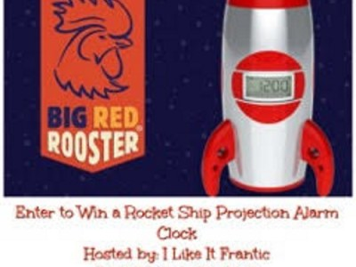 How an Alarm Clock Saved Sleep and Rocket Ship Projection Alarm Clock Giveaway
