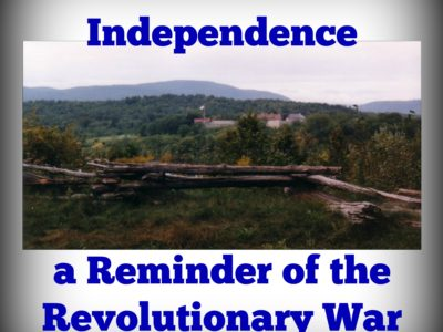Mount Independence, a Reminder of the Revolutionary War in Vermont