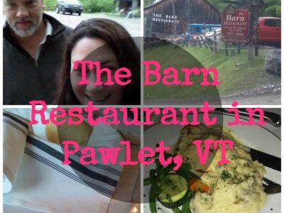The Barn Restaurant & Tavern in Pawlet, VT #traveltuesday