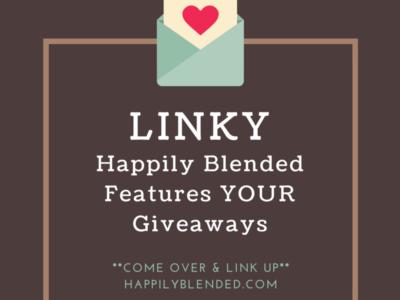 Saturday Giveaway Linky #happilyblended #contestalert