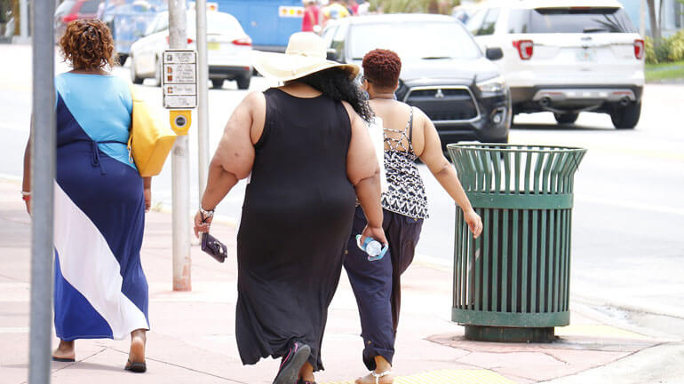 Nauru has the Largest Number of Overweight Population