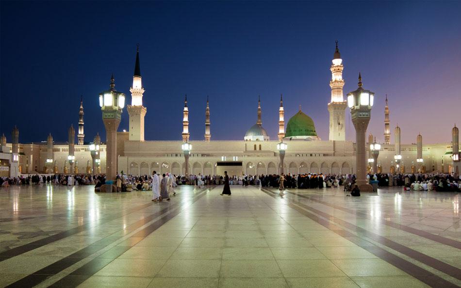 Prophet Muhammad's Masjid in Medina